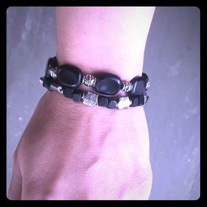 Jewelry - Handemade layered bracelets
